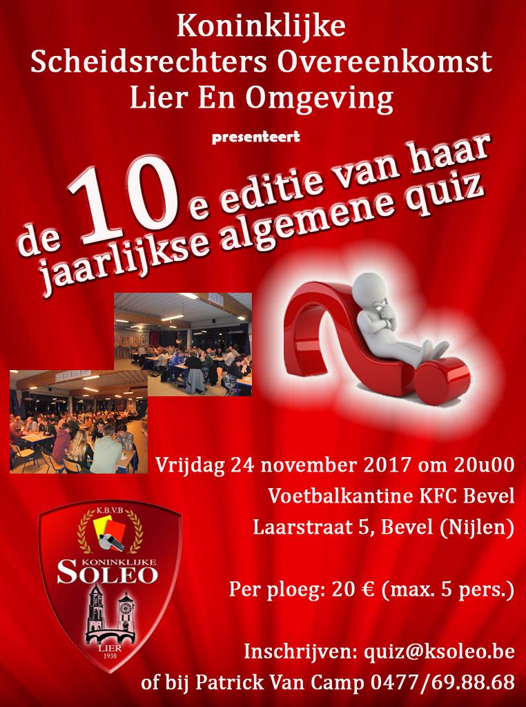 Soleo Kwis 2017