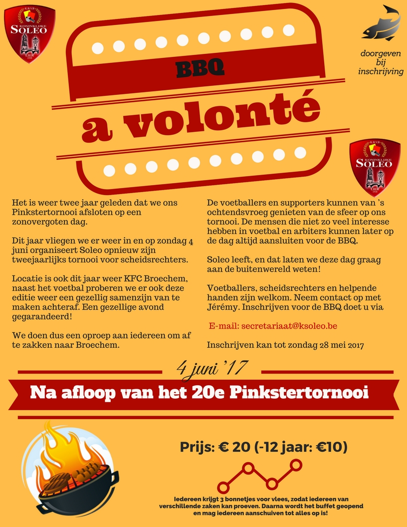 Pinkstertornooi @ KFC Broechem   Ranst   Vlaanderen   België