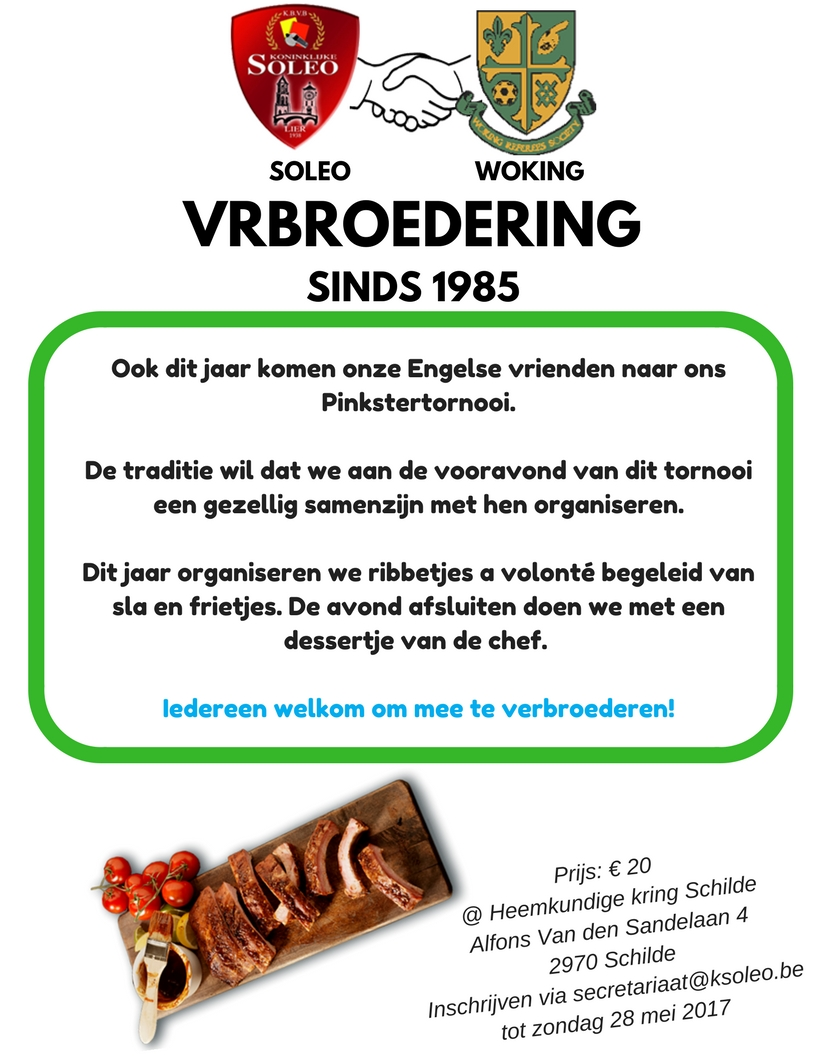 Verbroedering Soleo & Woking @ Heemkundige Kring Schilde   Schilde   Vlaanderen   België