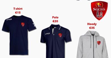 Soleo lanceert nieuw shirt, polo en hoody